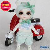 OUENEIFS bjd s clothes doll 1/12 clothes girl boy baby jumpsuits send cap have not wig or doll